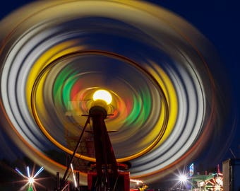 Long Exposure Carnival Ride