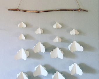 Origami Paper Mobile || Cloud