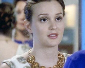 As seen on Ms. Meester as Blair Waldorf on Gossip Girl Swarovski Crystal Necklace 6470N