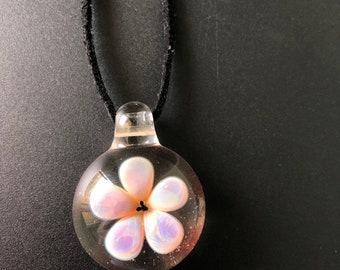 Flower implosion pendant