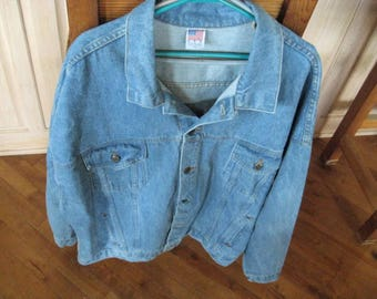 Levi Dressage Horse Denim Jacket 4XL