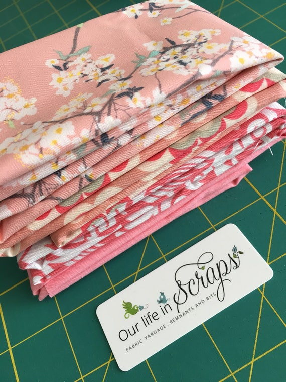 Pretty in Pink Remnant Bundle-4 fabrics
