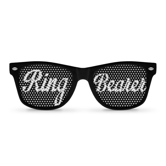 Ring Bearer Retro Party Sunglasses