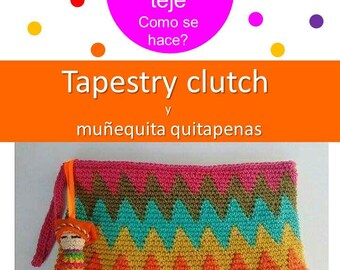 TAPESTRY CLUTCH