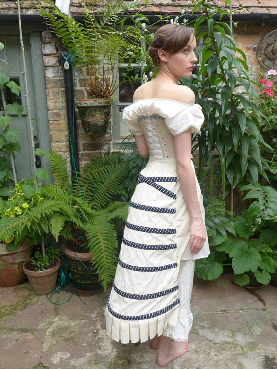 Victorian Lingerie History – Corset, Chemise, Petticoats Victorian/Steampunk BustleVictorian/Steampunk Bustle $114.94 AT vintagedancer.com