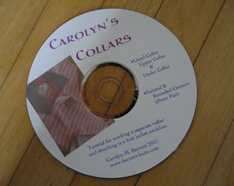 Carolyn's Collars Machine Knitting Tutorial