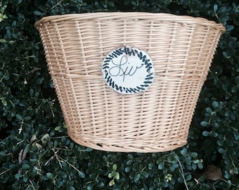 Personalized, Bicycle Basket, Any Name