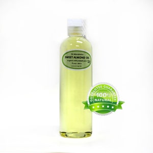 12 OZ Organic 100% Pure Sweet Almond Oil Cold Pressed
