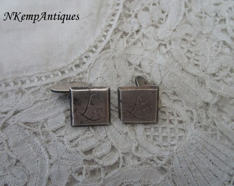 Antique cufflinks 1900