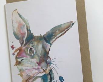 Animal Card - rabbit