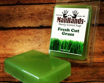 Fresh Cut Grass Scented Soap 3 oz. Bar