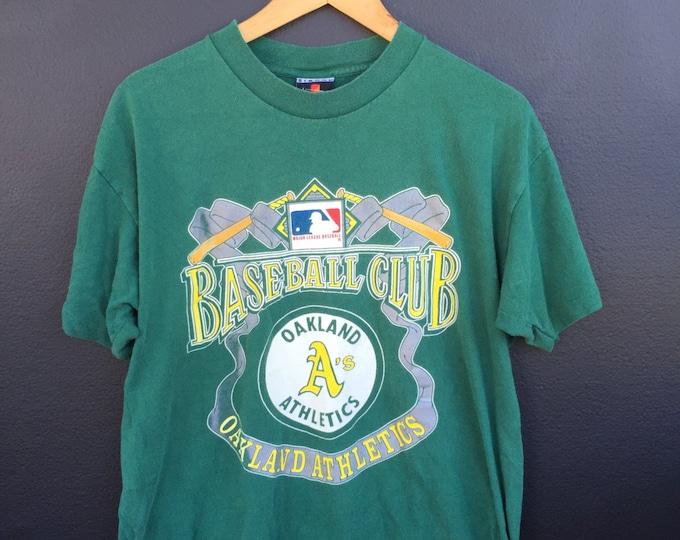 Oakland Athletics MLB 1990s vintage Tshirt