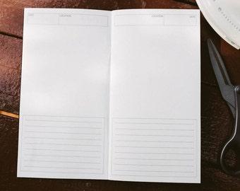 Easy Memories Travelers' Notebook Insert