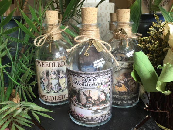 Mad Hatters Tea Party Bottle