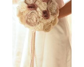 Wedding Bouquet, Boho Wedding Bouquet, Boho Bridal Bouquet, Rustic Bouquet, Vintage style Bouquet, Bouquet for Weddings, Peony Bouquet 790