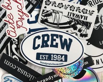 12 Brandy Melville Stickers