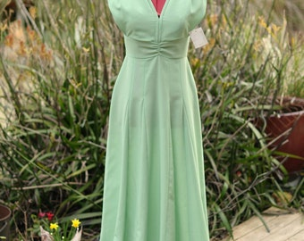 Vintage evening gown, formal, graduation, bridesmaid dress
