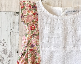 Liberty tops<betsy> 100size/110size Japan Maid [Time Limited Sale]