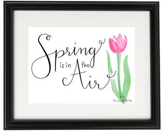 Spring is in the Air PRINT