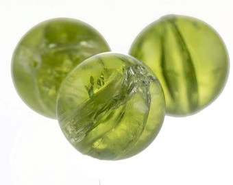 22mm round bead in green 1Pcs (PK0009_22mm_P4998crash)