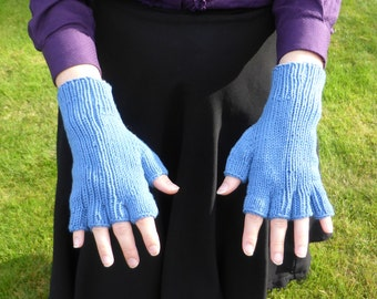 Bamboo/Cotton Fingerless Gloves Half-mitts