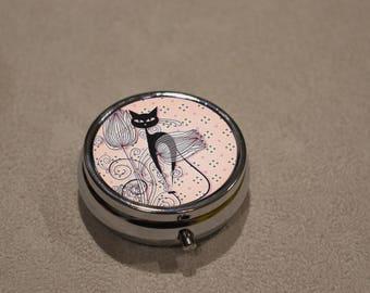 little box multi use, travel jewelry box, pill box