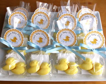 Duck Baby Shower Favors - Duck Soap, Girl Baby Shower Favors, Boy Baby Shower Favors, Unique Baby Shower Favors - Set of 10