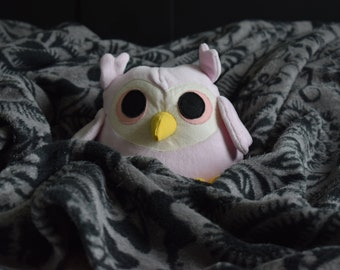 Plush pink OWL