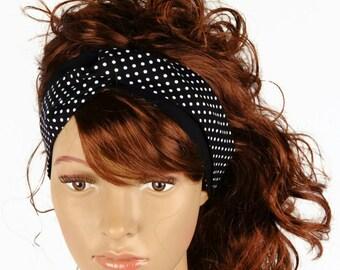 Turban Headband, Twisted Headband, Polka Dot Headband, Women's Headband, Girl's Headband, Hair Accessories, AnnabelsAccessories, Polka Dots