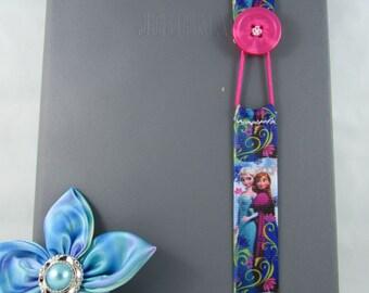Frozen Ribbon Bookmark