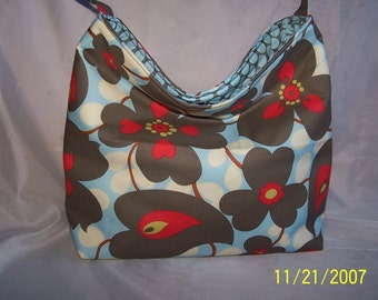Amy Butler Morning Glory Slouch Bag