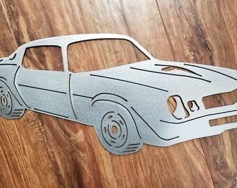 1979 Camaro Metal Art