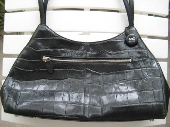 Monsac Leather Bag - a Beauty!