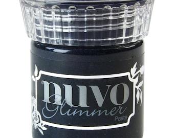Nuvo Black Diamond Glimmer Paste, NPG 952, Tonic Studios, Mixed Media, Scrapbook, Card Making, glitter, a2z scrapbooking