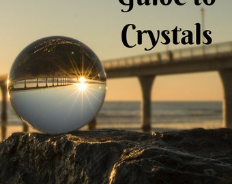Crystal Healing - eBook Instant Download - Crystals and the Power They Give You Crystal Guide Metaphysical