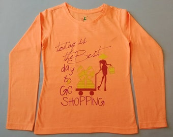Girl's T-Shirts, Tops, Full Sleeves