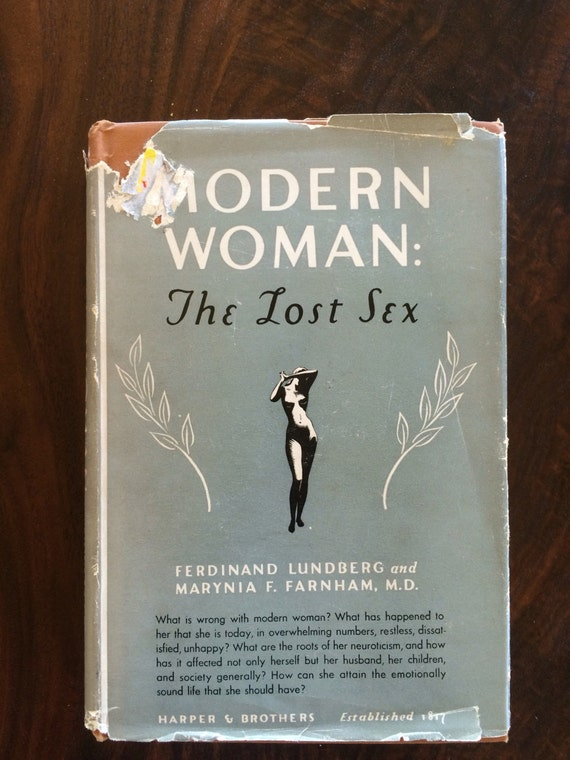 Modern woman the lost sex