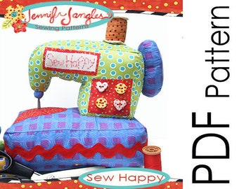 PDF Sewing Machine Sewing Pattern - Sew Happy