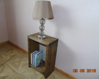 BRAND NEW Handmade Rustic Wooden Bedside Table - Many Colours and Sizes!