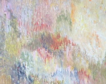 Dreams# 3 - Original Oil Painting,Abstract Landscape, Abstract Painting, landscape Painting