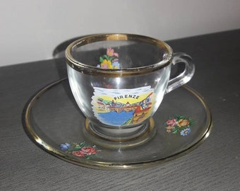 Vintage Italy Tea cup and saucer