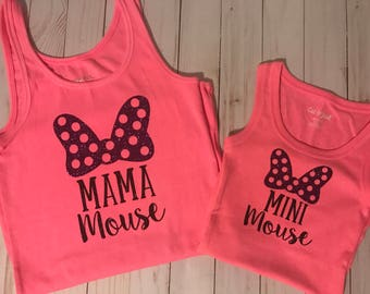 Mama & Mini Mouse Tanks