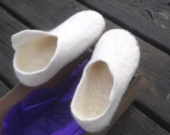 Merino Wool Slippers Asturian eco