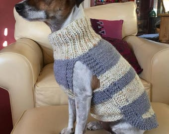 Made-To-Order Hand Knitted Dog Jumpers