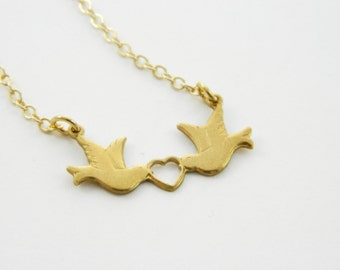 Lovebirds Necklace - NC0013