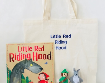 Little Red Riding Hood Story Bag / Story Sack