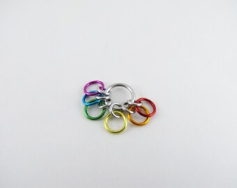 Rainbow Row Counter - 6 Rings