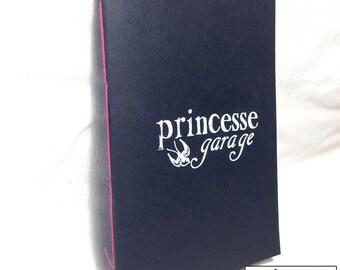 Handmade screen printed Princess Garage book