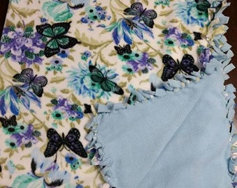 Tied fleece blankets