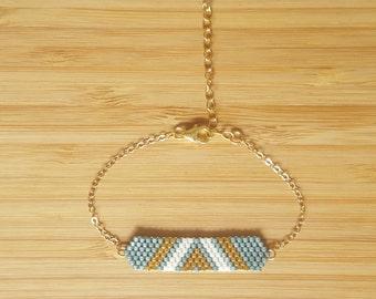 Bracelet Aztek Aqua